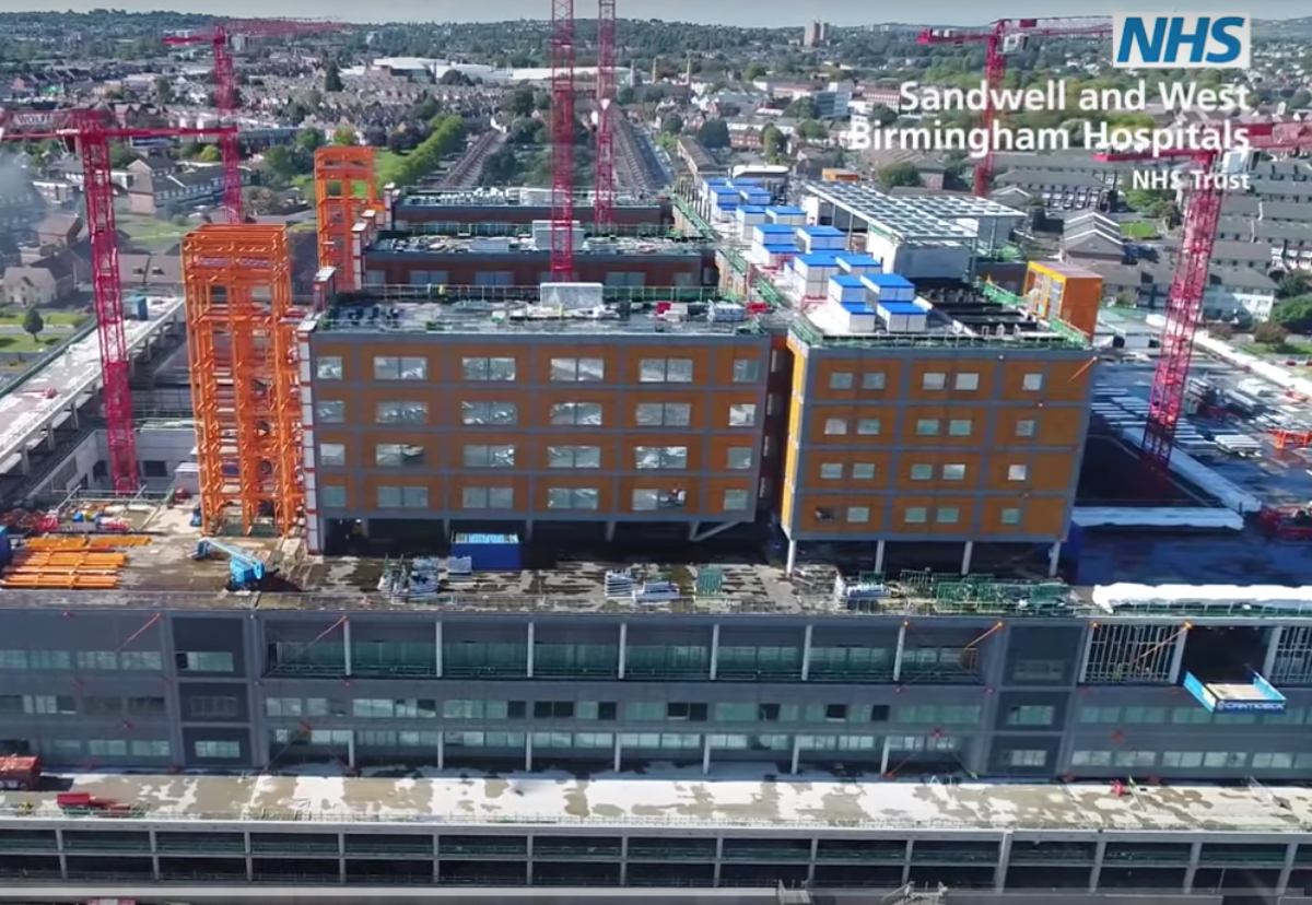 Carillion was two-thirds through construction on the Midlands Metropolitan Hospital project