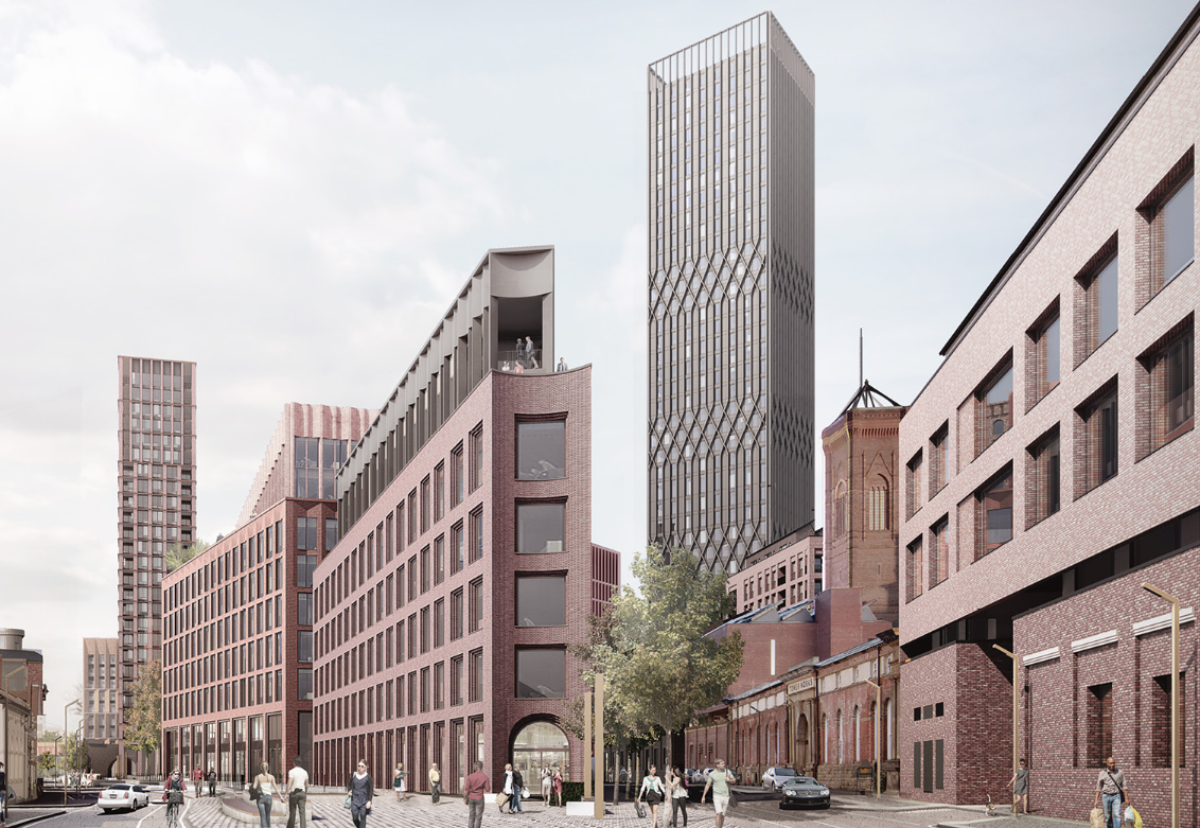 The South Bank scheme will involve a mix of buildings ranging from five to 40-storeys.