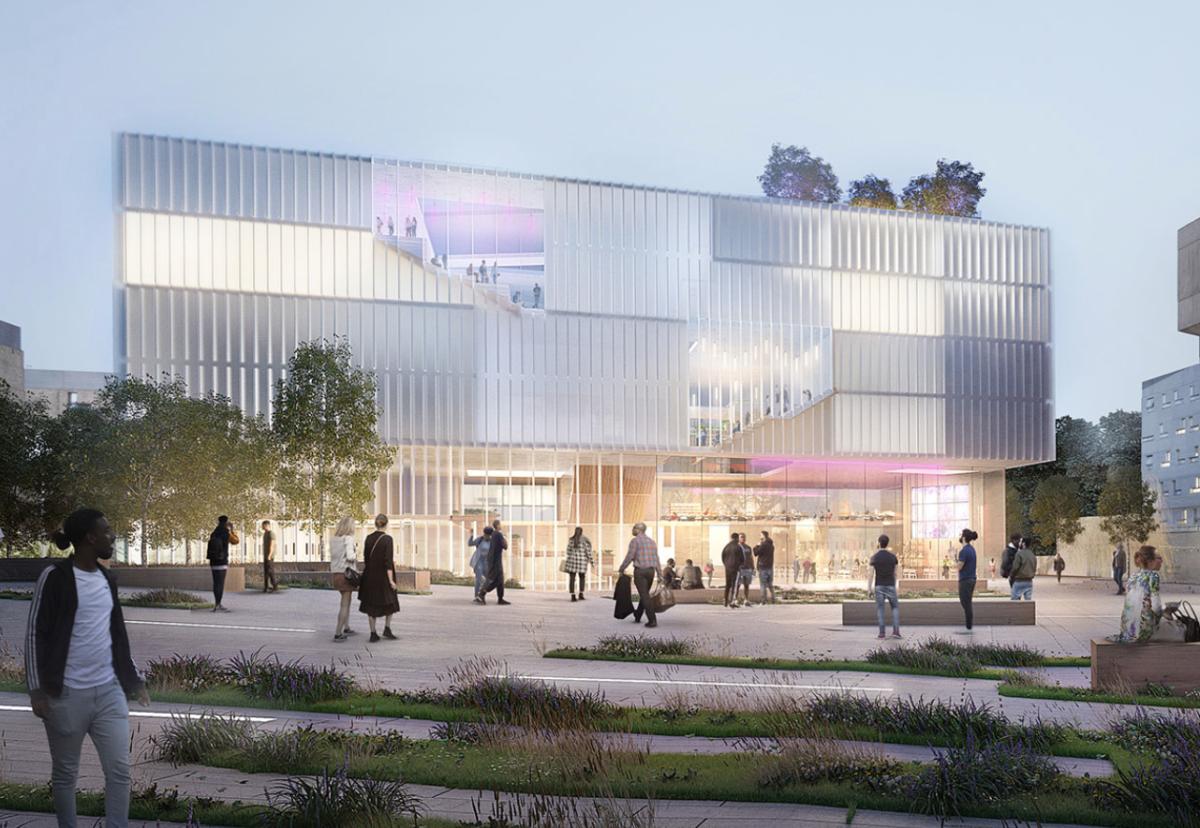 Architect Penoyre & Prasad and engineer BDP designed the new teaching block
