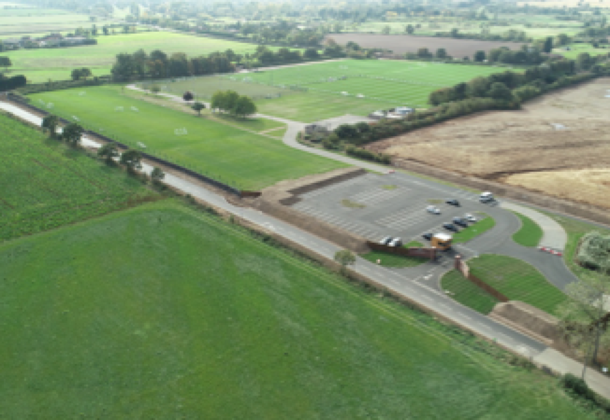 : O'Brien recently completed their second phase for Aston Villa Football club – Car Park and Access Road Upgrade at Bodymoor Heath