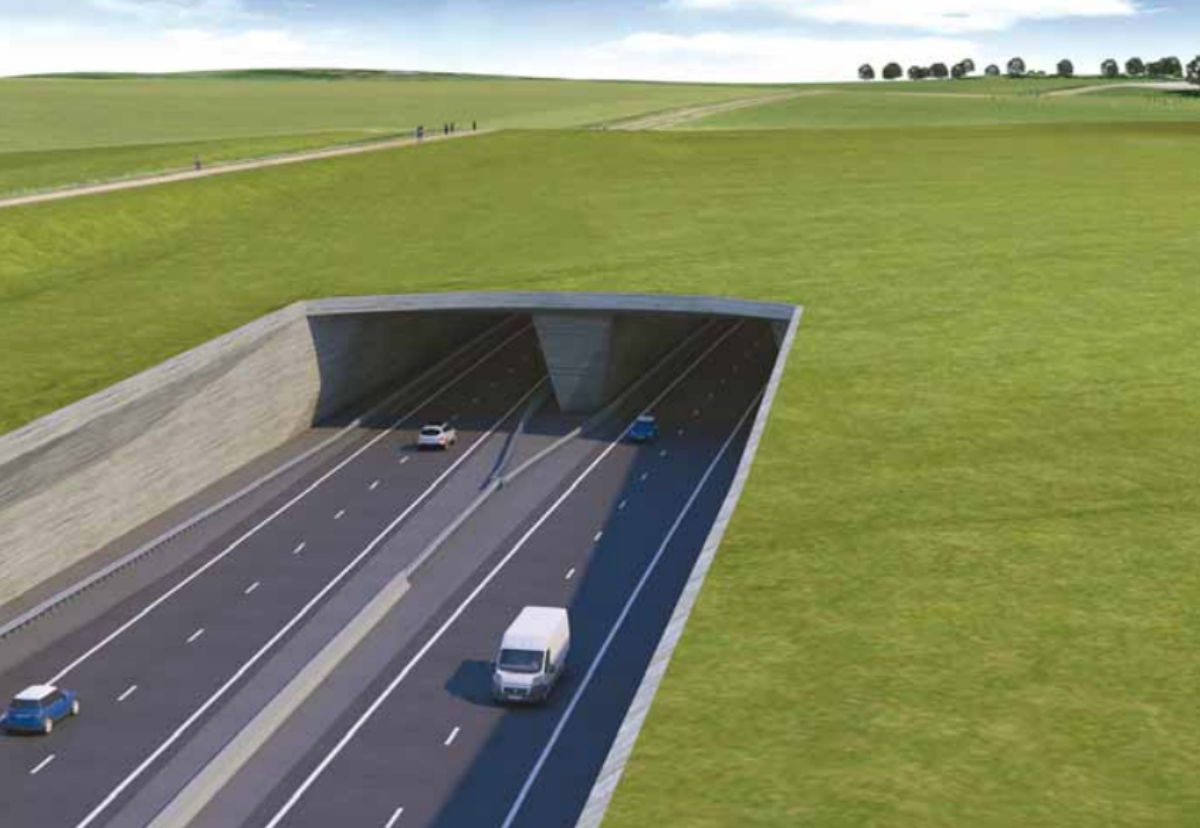 2-mile long twin-bore tunnel through the World Heritage Site will be publicly funded after PFI plan dropped