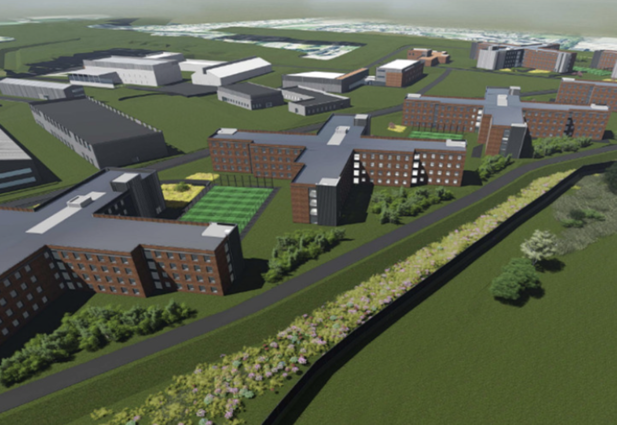 Kier is building a £250m prison at Wellingborough in Northamptonshire.
