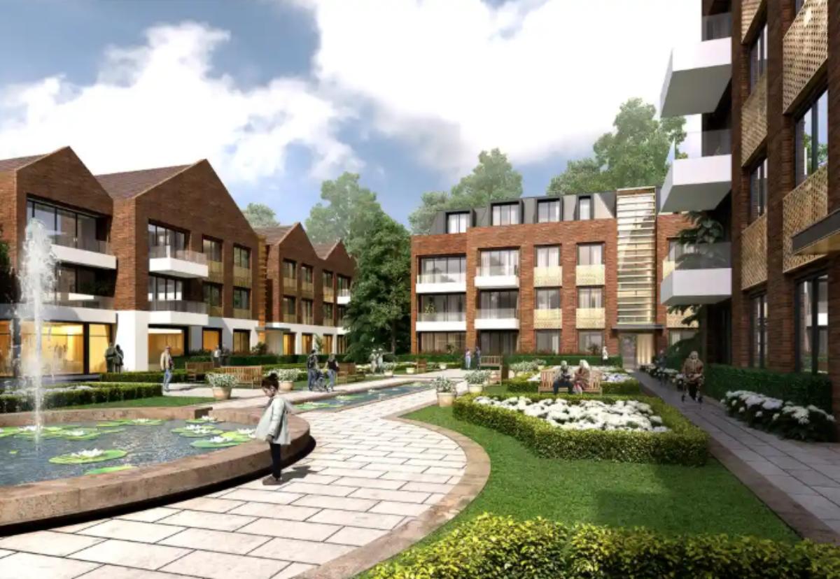 Guild Living's planned retirement community in Epsom