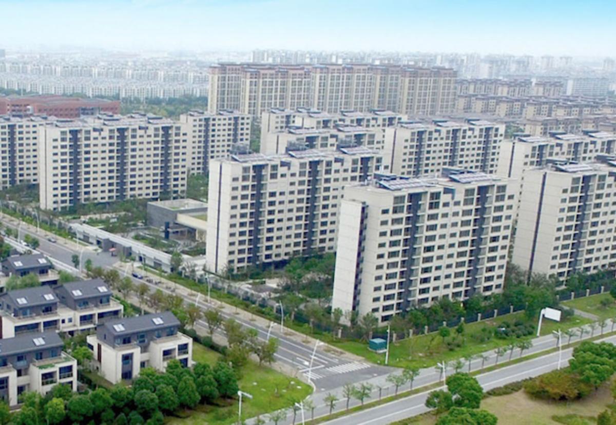 A Sekisui House development in China