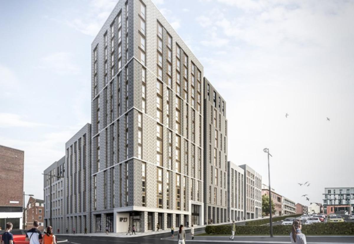 Sheffield's Kangaroo Works plan at the corner of Rockingham Street and Wellington Street