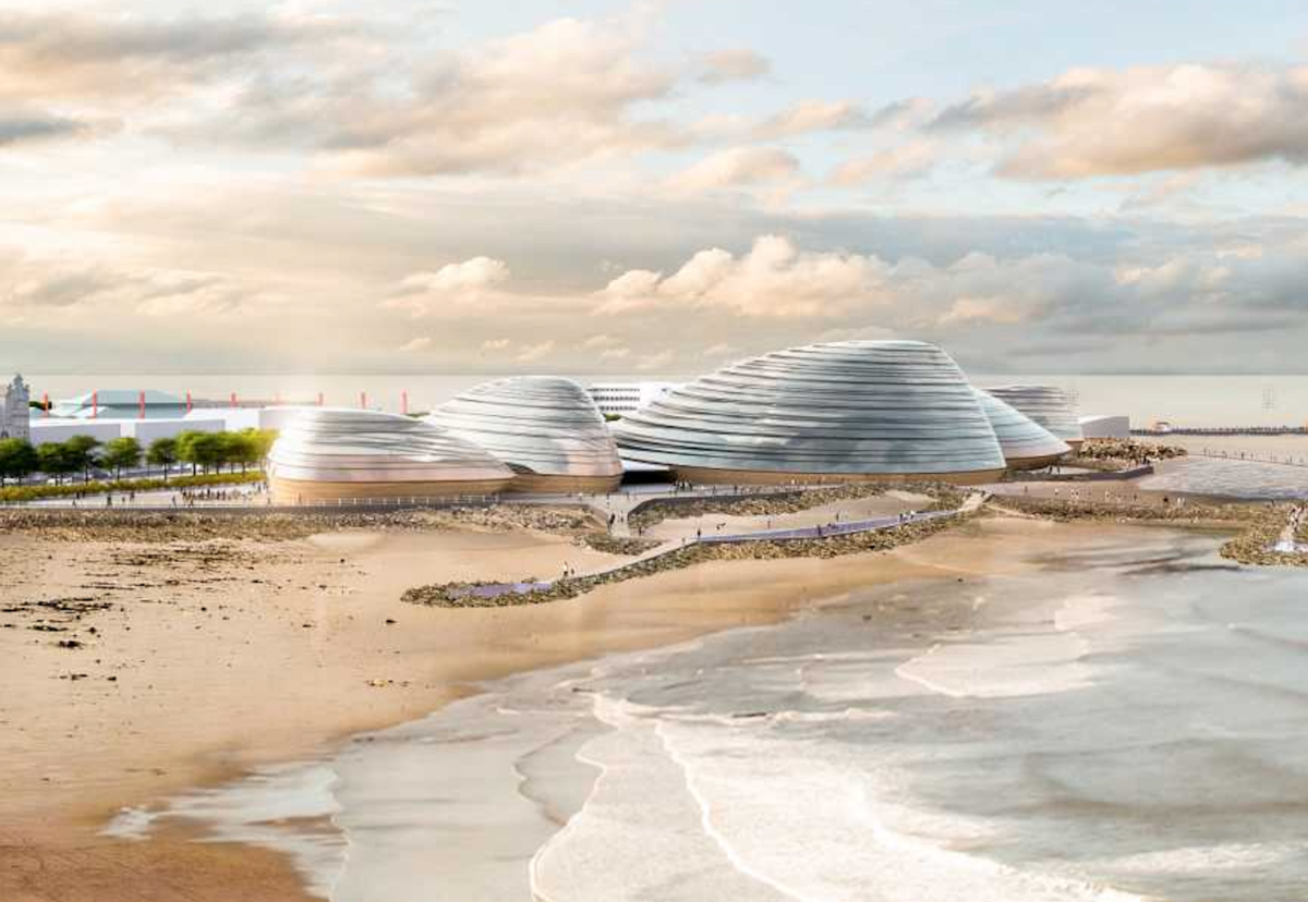 Domes will show off the marine habitat and provide other visitor attractions