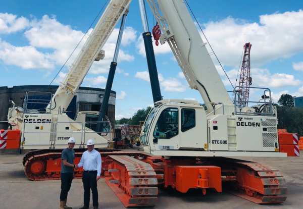 Tadano adds to fleet at Delden Cranes | Construction Enquirer