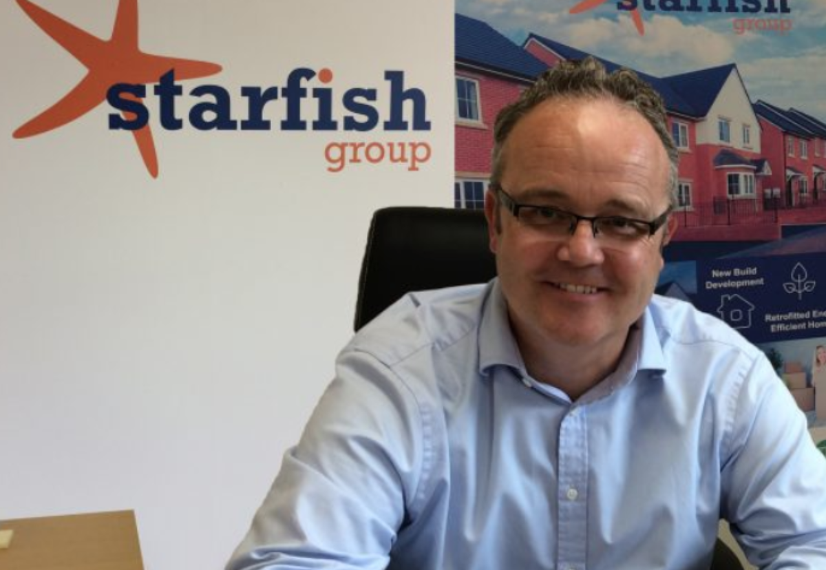 Martin Gerrelli, director of Starfish Commercial, which has been taken over by Henry Boot Construction