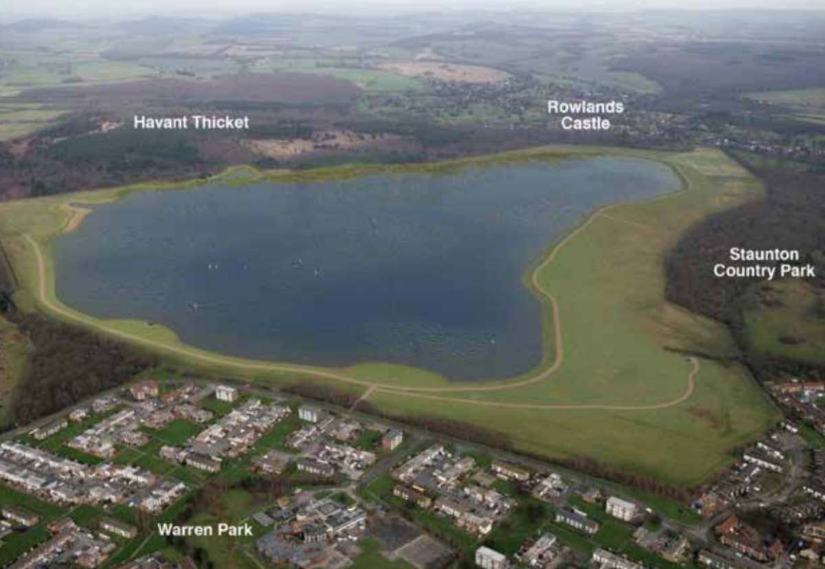 Site of new reservoir between Rowlands Castle and Staunton Country Park