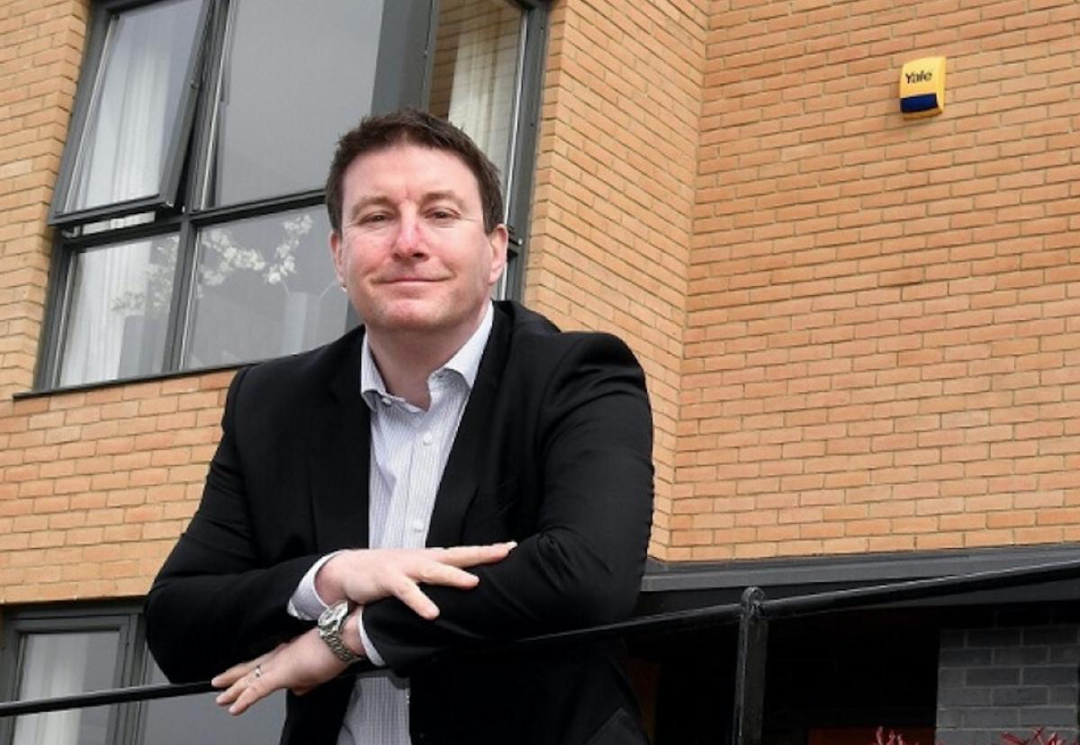 Sean Egan, Partnerships North's md is enjoying a run of big project wins.