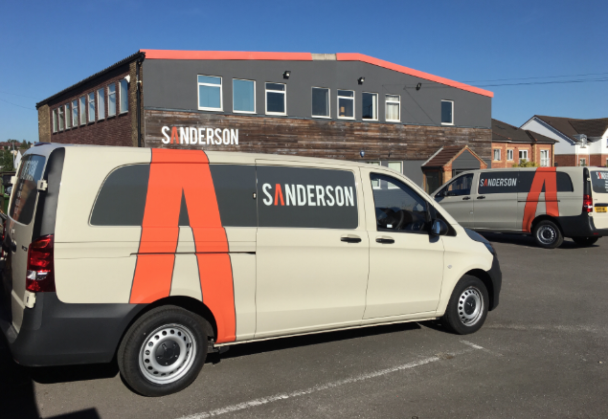 Sanderson office in Castleford