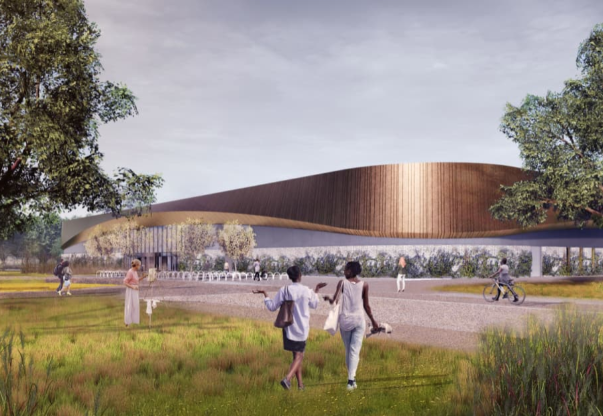 Proposed new twin rink at Lee Valley Ice Centre
