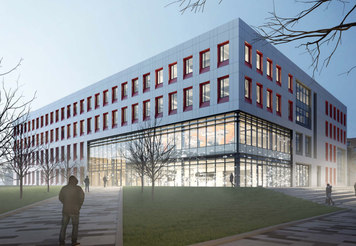 Planned 15,500 sq m School of Science, Engineering and Environment