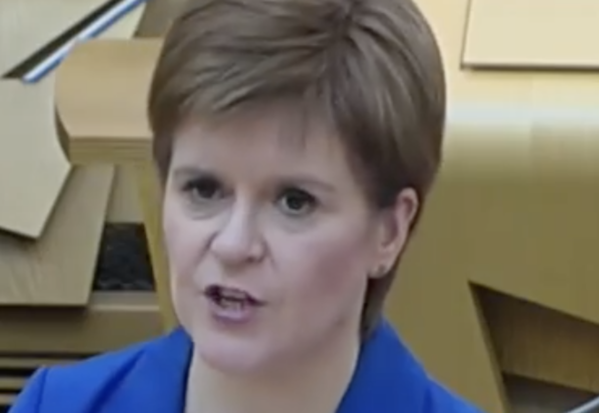 First minister says construction can lead the way in the cautious lifting of the lockdown