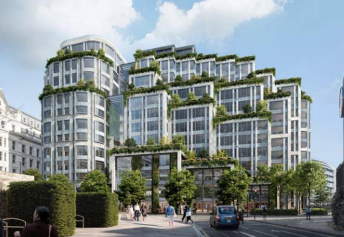 The KPF designed building will boast 17 private terraces