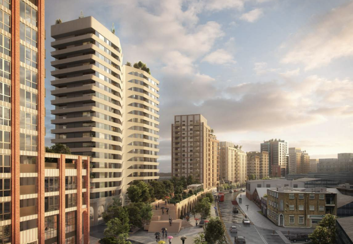 Hunt will now start to find a delivery partner for TfL's largest residential development so far
