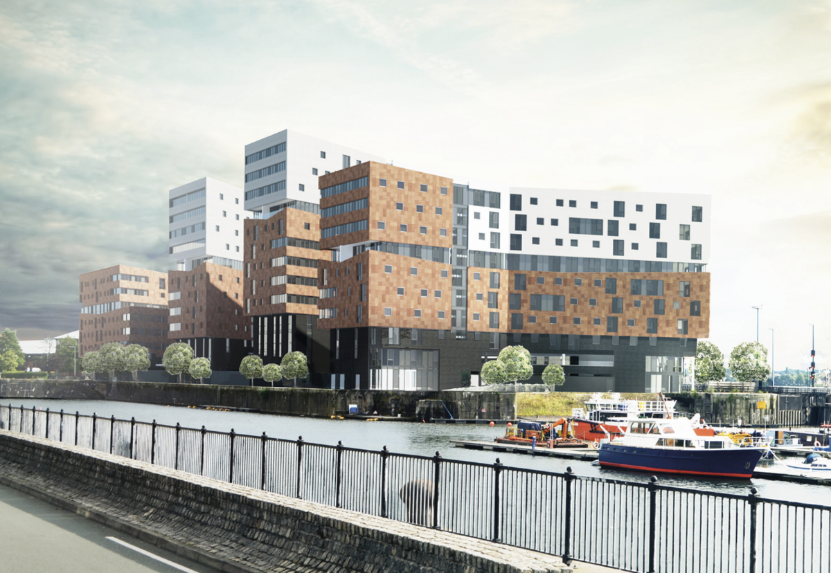 Brunswick Quay site from 7 storeys to 12, totalling over 500,000 sq ft