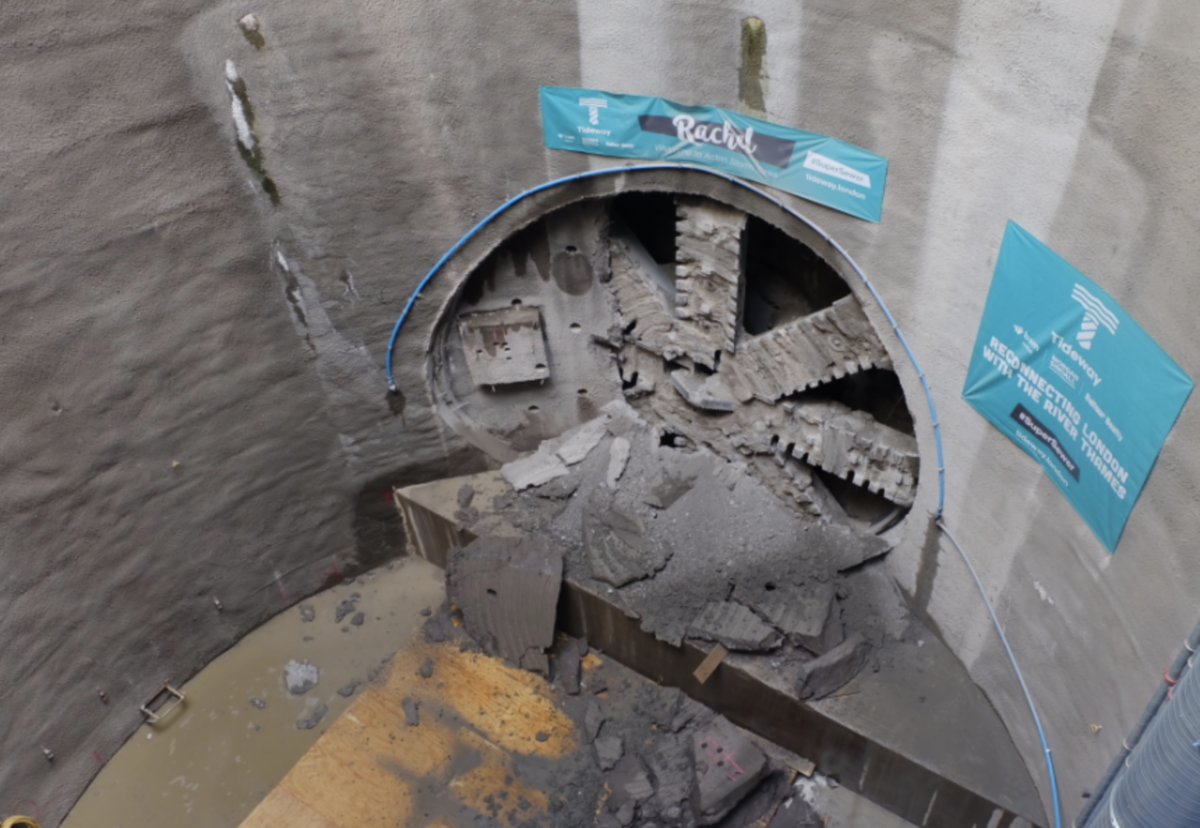 TBM Rachel will now be recovered from the Acton storm tank site