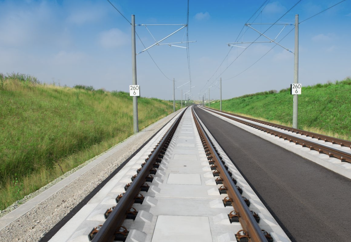 Slab track system to be used for HS2