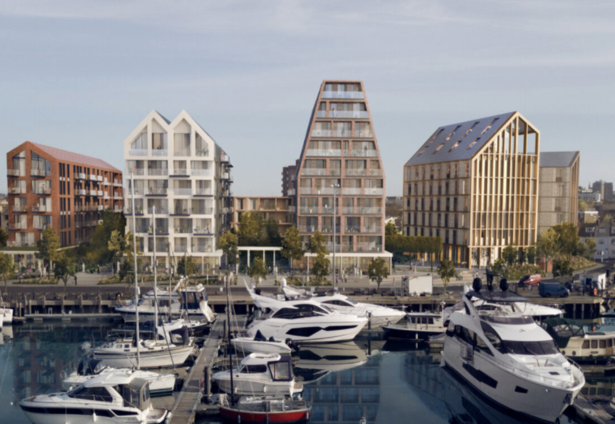 Proposed redevelopment of the Thistle Hotel site on Poole Quay