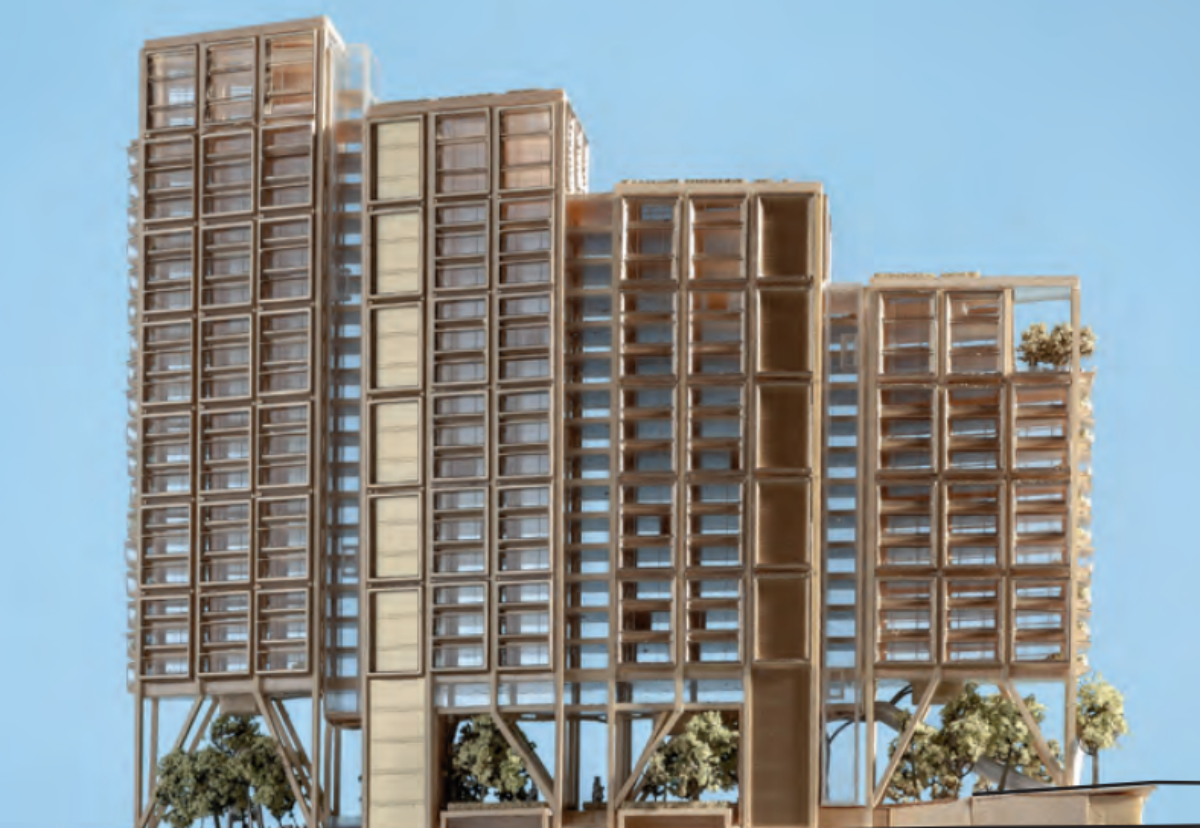 Building will be stepped up to 22 storeys