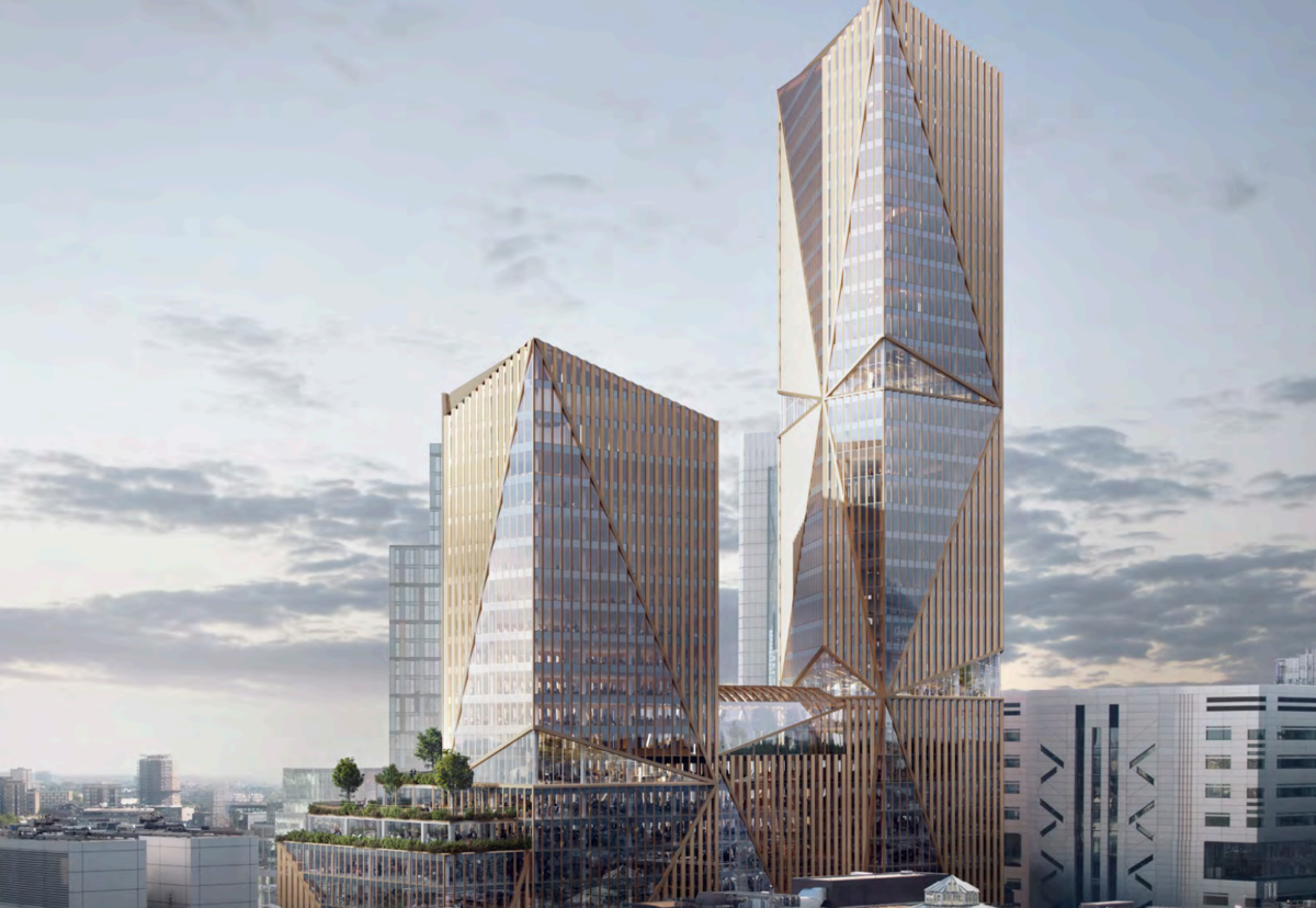2 Finsbury Avenue will offer 83,000 sq m of offices, 700 sq m of retail and over 2,100 sq m of learning space