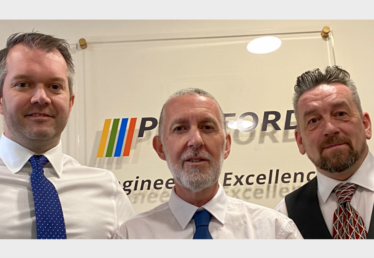 James Tuohy (Managing Director), Andy Downing (Group Operations Director), Dave Miller (Northern Operations Director)