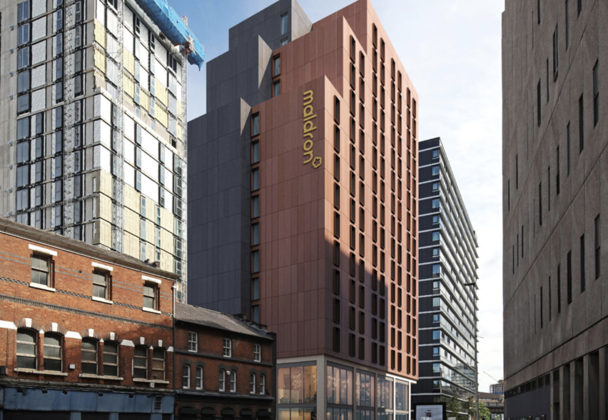 Architect Norr Consultants designed the Maldron hotel project Salford