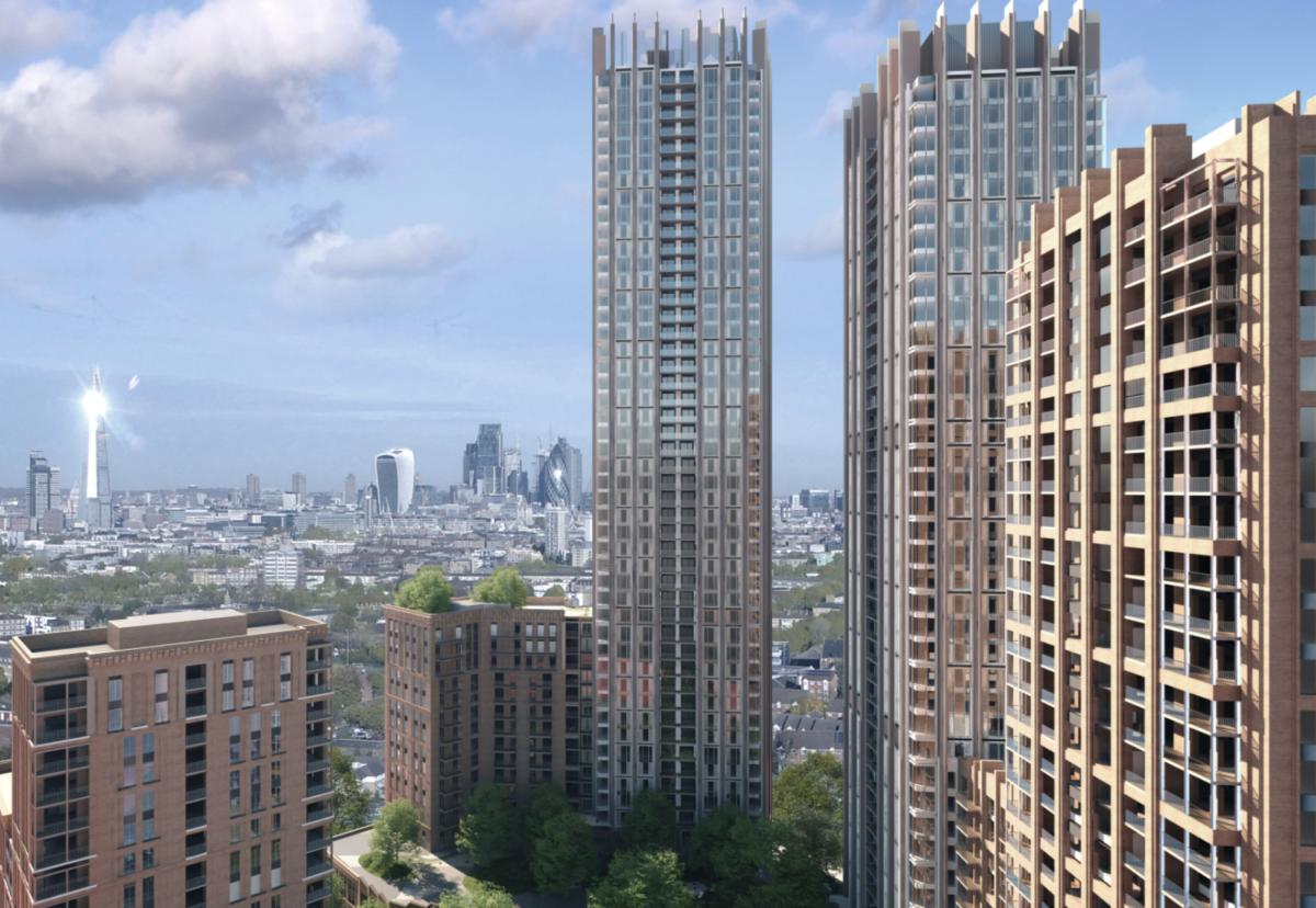 Avanton's £730m Ruby Triangle project planned for the Old Kent Road in Southwark
