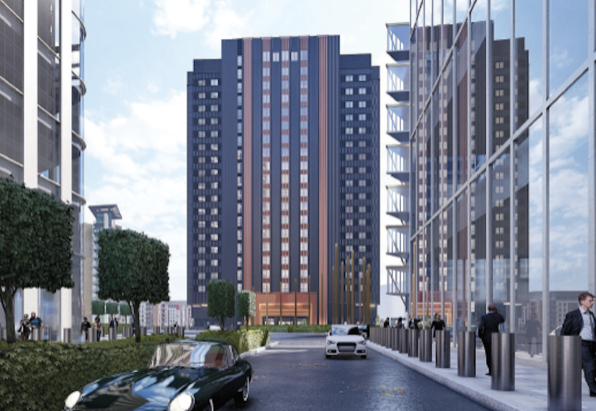 Proposed 20-storey Locke aparthotel