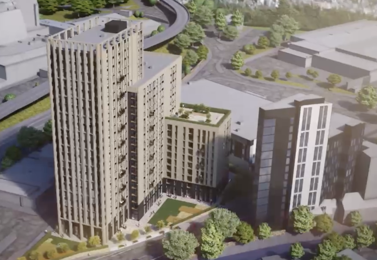 Plans in for Sheffield 336 private rental flats scheme