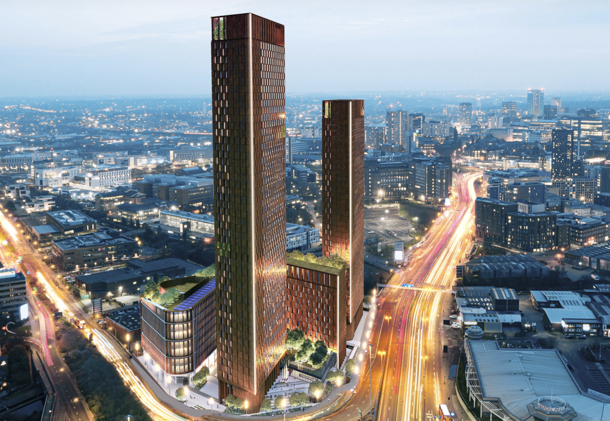 Plan unveiled for world's first carbon neutral skyscraper