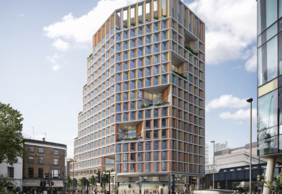 Hybrid timber building will achieve 40% reduction in embodied carbon