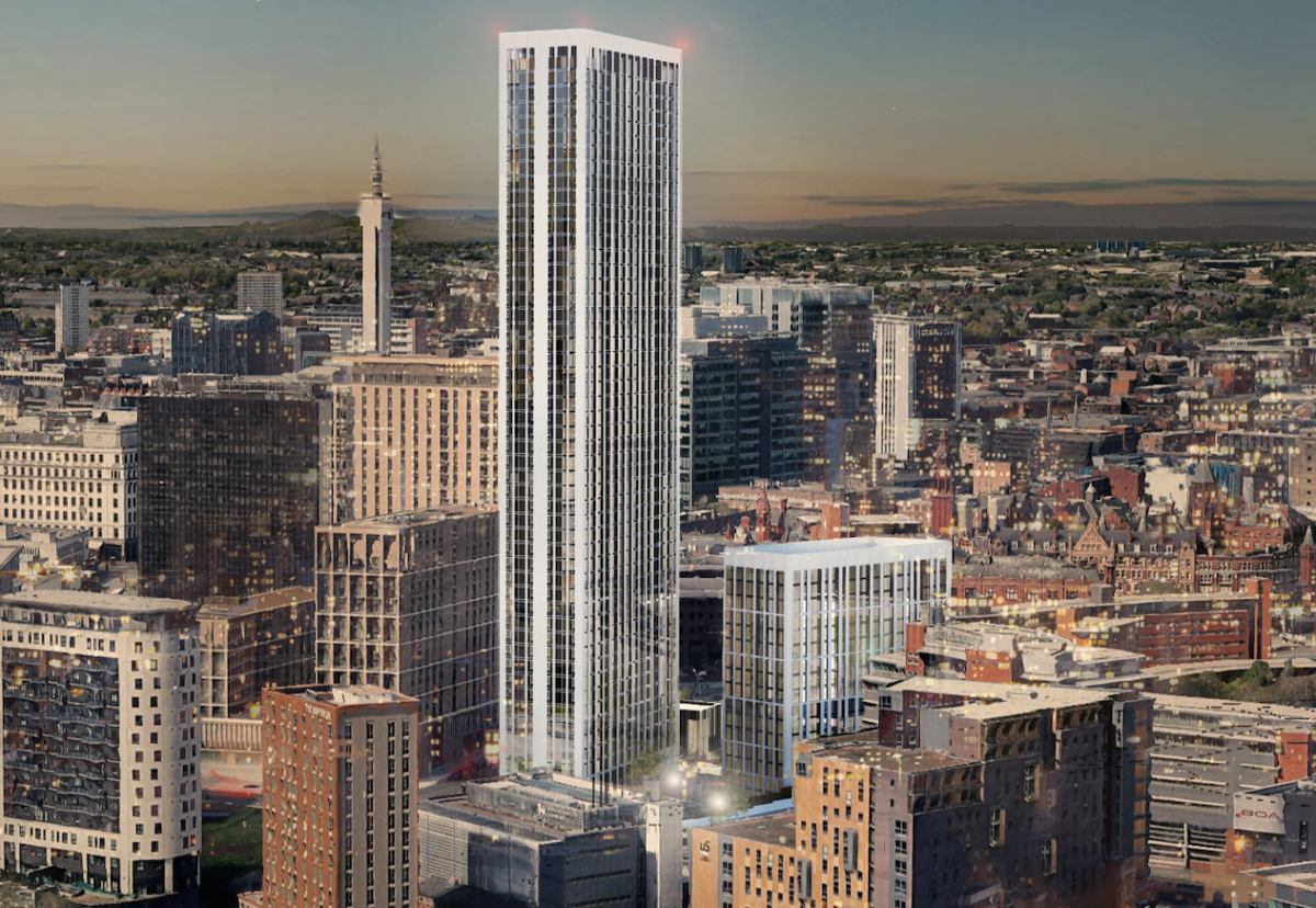 At 160m, One Eastside will surpass the BT Tower as the city's tallest building