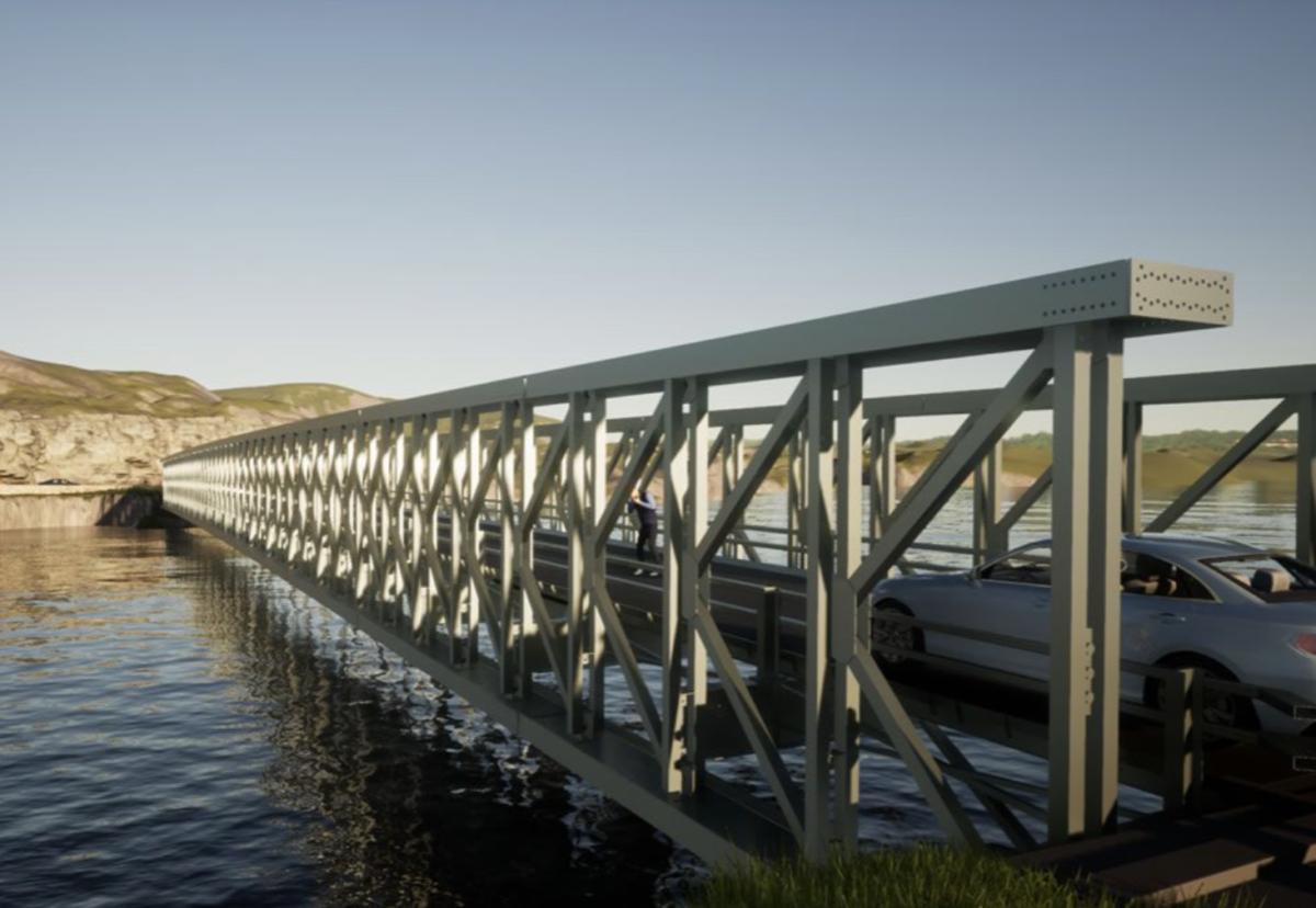 Mabey's Delta bridge design offers clear spans up to 100m