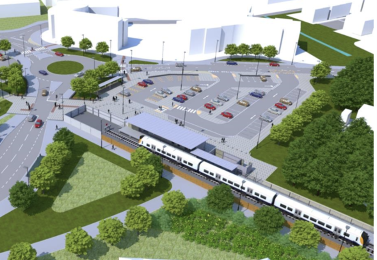 The Portishead rail branch line will see two new stations at Portishead and at Pill