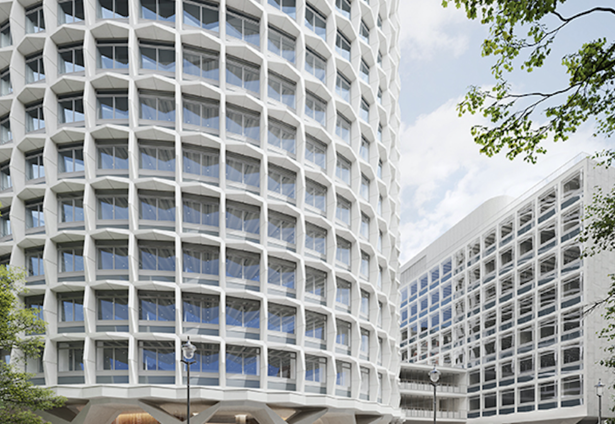 How the block will look after a major refurbishment programme