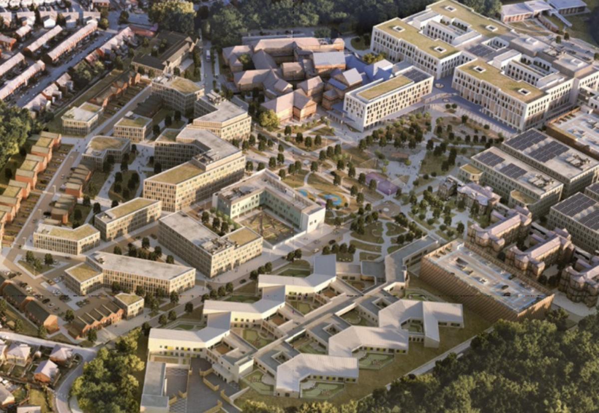 North Manchester General Hospital redevelopment plan