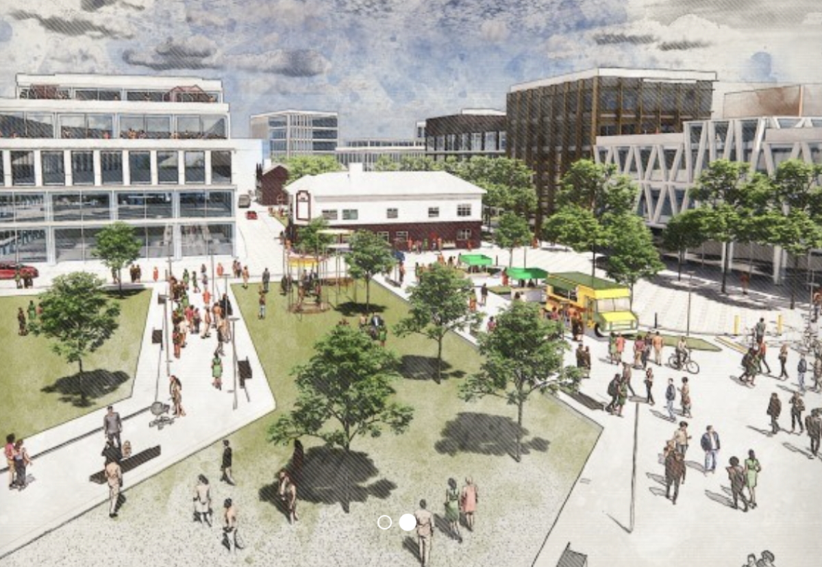 transformation of Doncaster town centre will continue at pace as the government backs a £25mTowns Fund bid