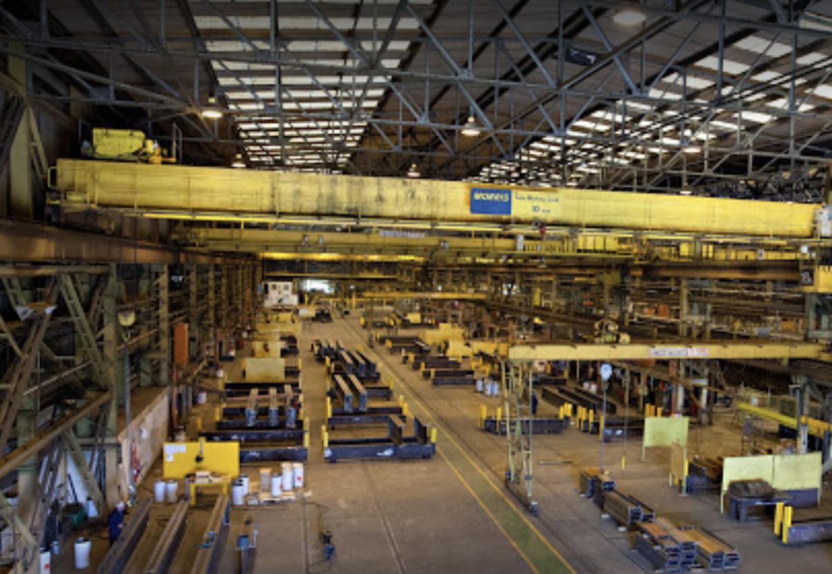 Main Darlington factory where some new orders work will restart