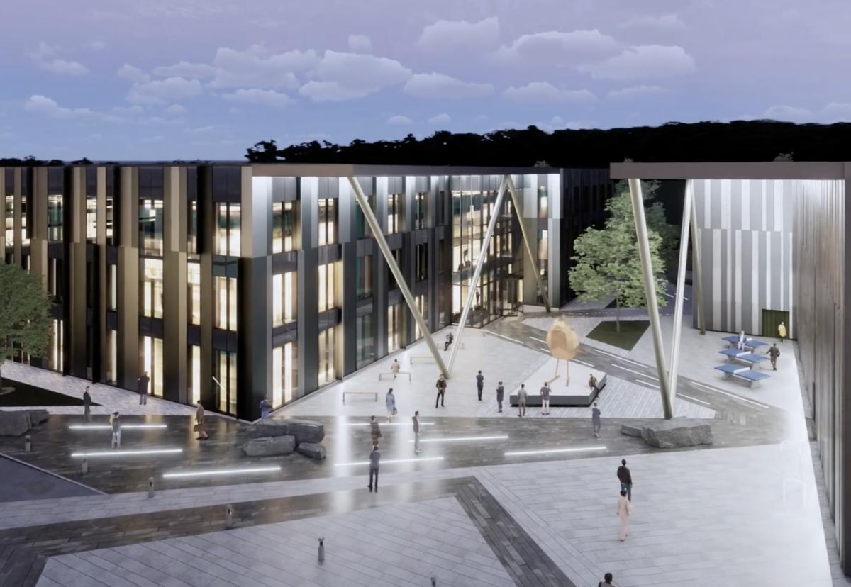 Cambridge International Technology Park masterplan