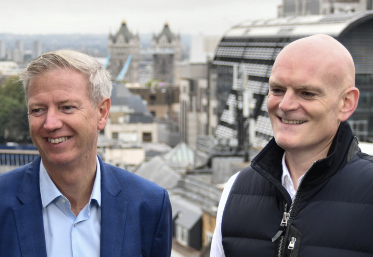 Paul Cossell (left) to take role as vice-chair as Matt Blower (right) becomes CEO