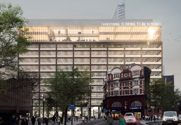 London Office Building To Be Raised By Six Floors Construction