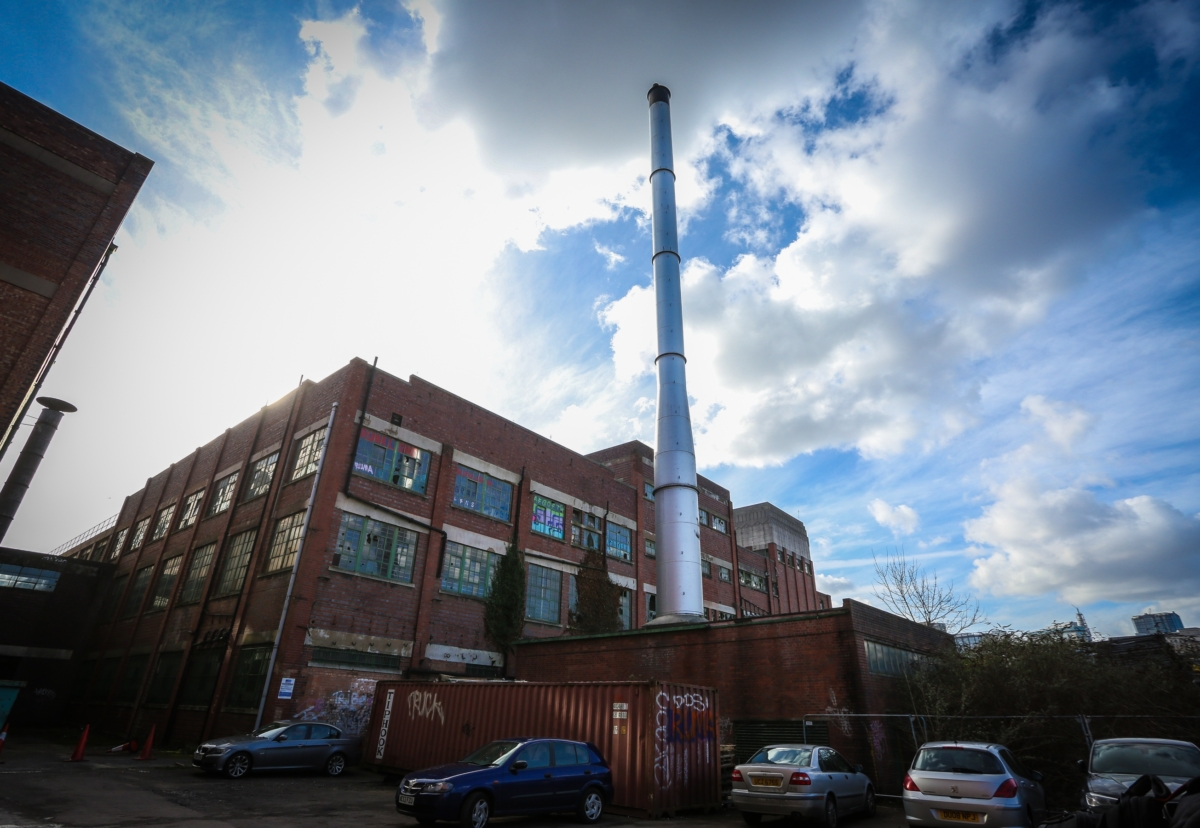 Old tea factory to be converted into office and leisure space