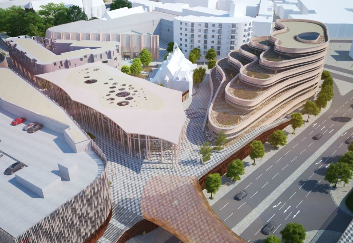 How Swansea Central Phase Two could look