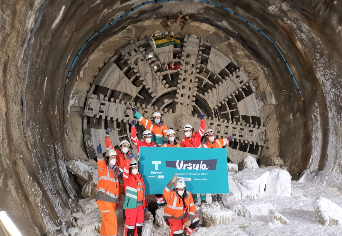 Tunnelling milestone as four-fifths of drive now complete