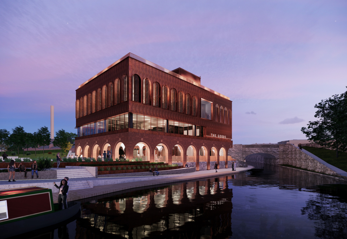 The Canal Turn project has been designed by architecture practice Jestico + Whiles