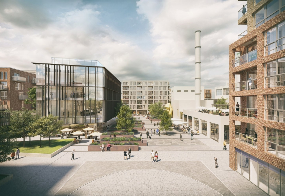 Welwyn Garden City regeneration scheme