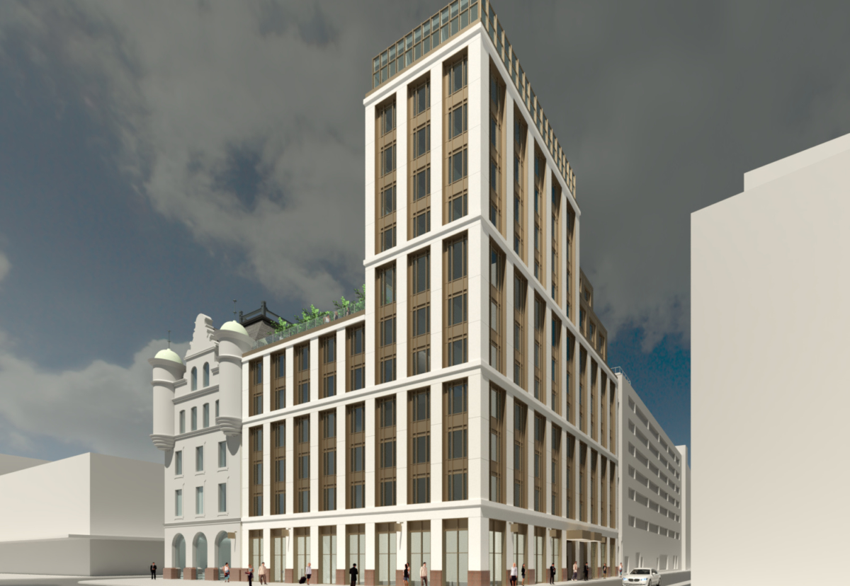 Much-needed hotel to be built in the heart of the historic Merchant City
