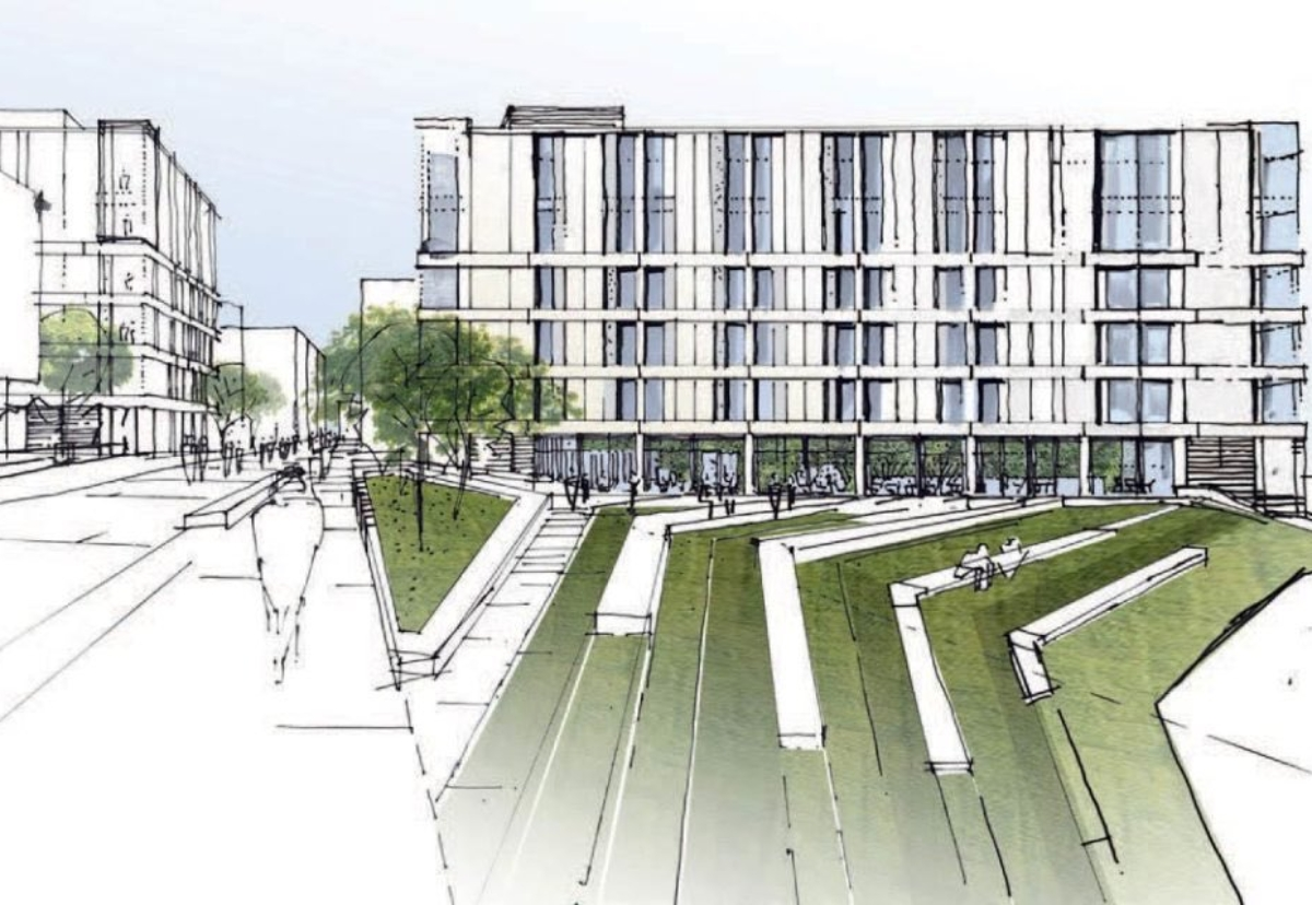 Design for blocks which will be the largest Passivhaus student scheme in the country